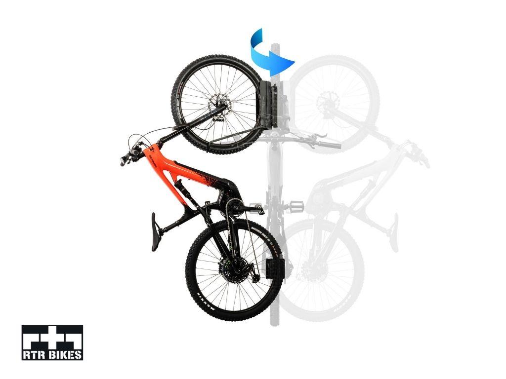 Obrotowy wieszak rowerowy Kranked Twist