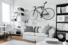 Rower w małym mieszkaniu