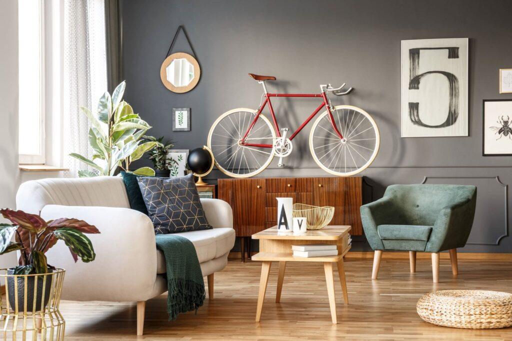 Przechowywanie roweru w małym mieszkaniu