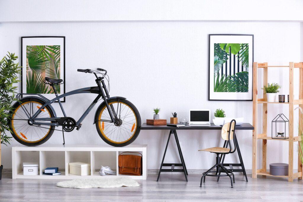 Rower w mieszkaniu