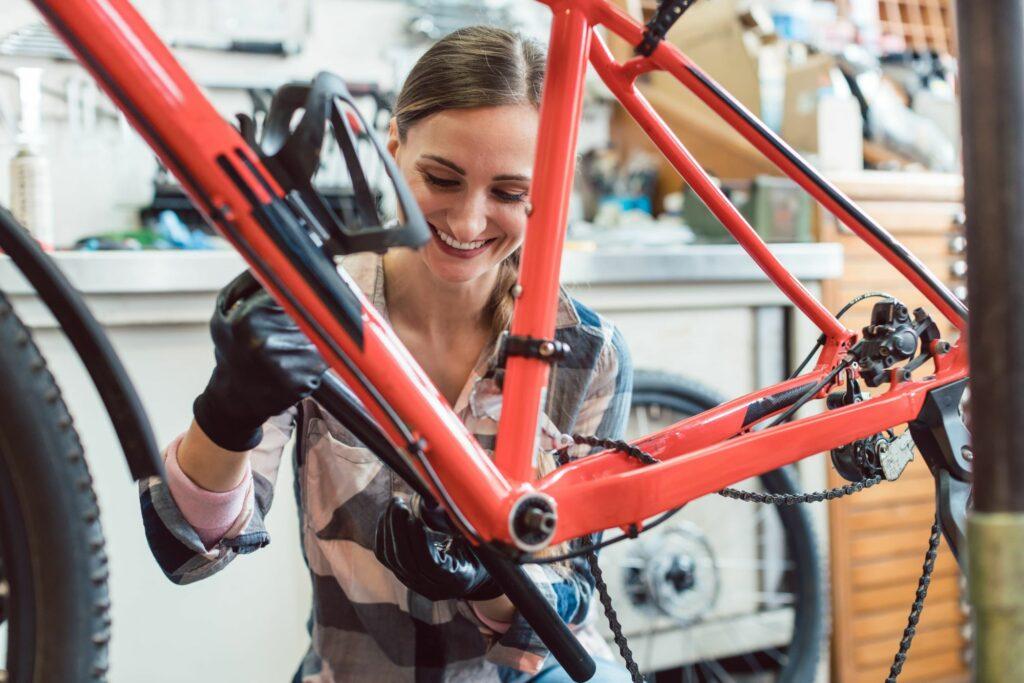 Tuning roweru – pomocny stojak